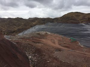 Visit to the final disposal facilities of solid waste of the Provincial Cityhall of Cusco