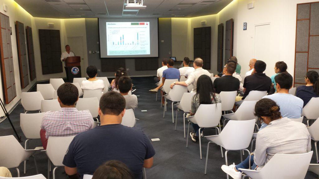 Talk by Professor Rubén Aldaco