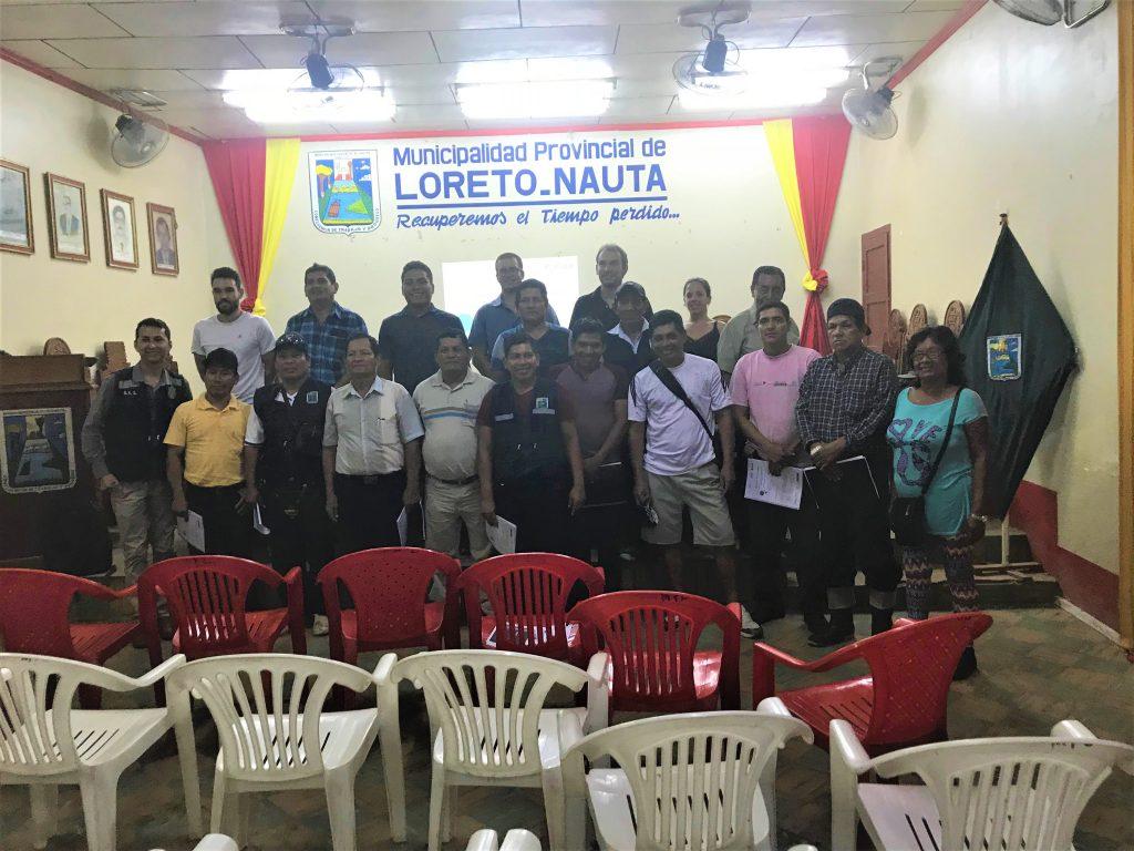 Presentación de los resultados del proyecto IKI en las municipalidades de Nauta e Iquitos