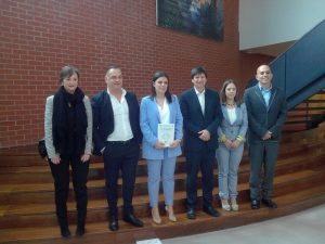 Visit of professors of PELCAN to the University of Cantabria and support of doctoral thesis of Jara Laso
