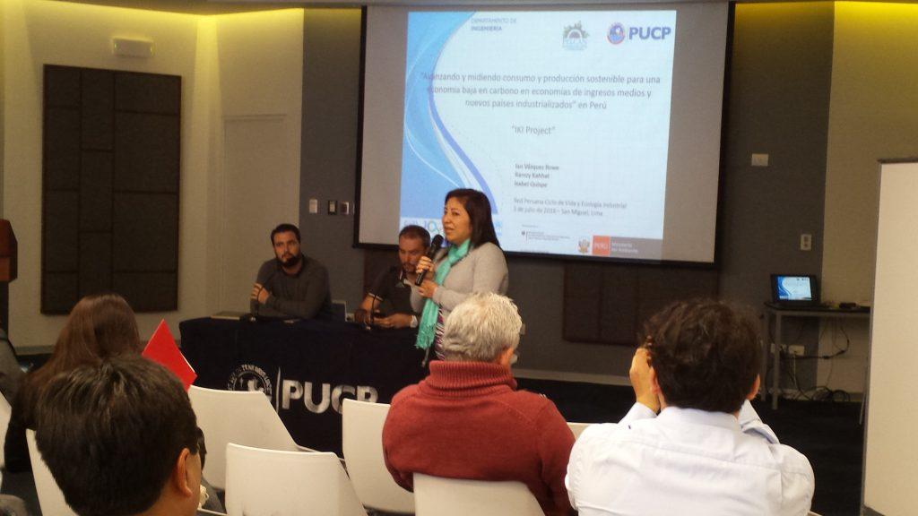 Presentación de resultados de Análisis de Ciclo de Vida para sectores prioritarios en el Perú