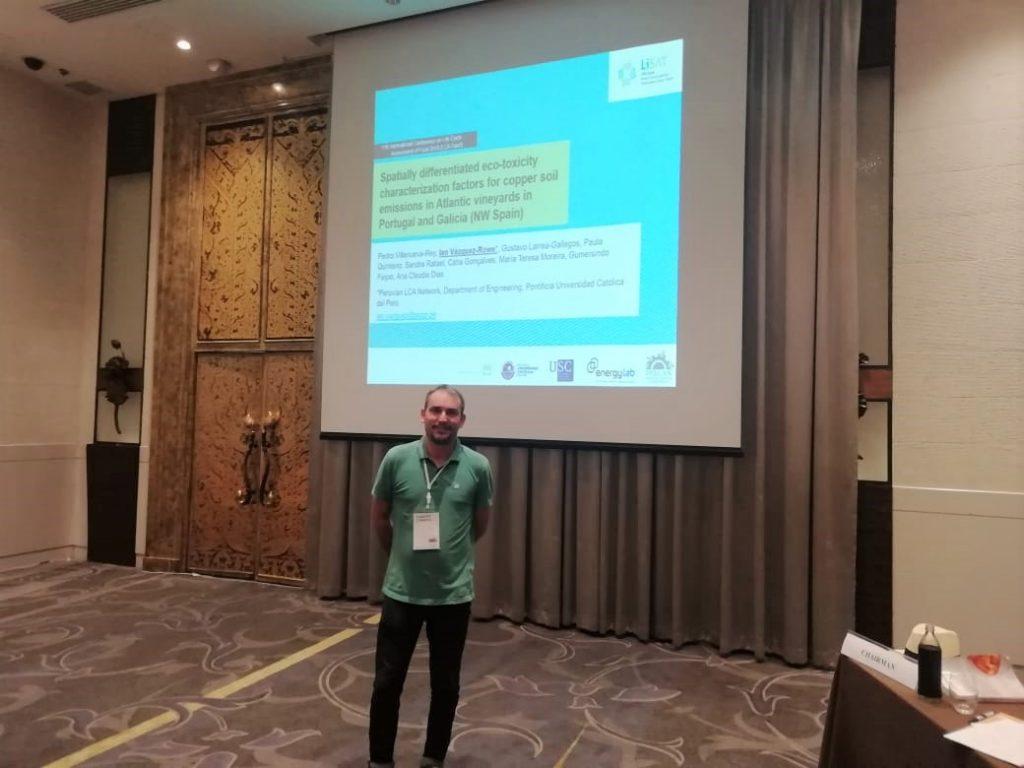(Español) Representación de PELCAN en 11th International Conference on Life Cycle Assessment of Food – LCA FOODS 2018