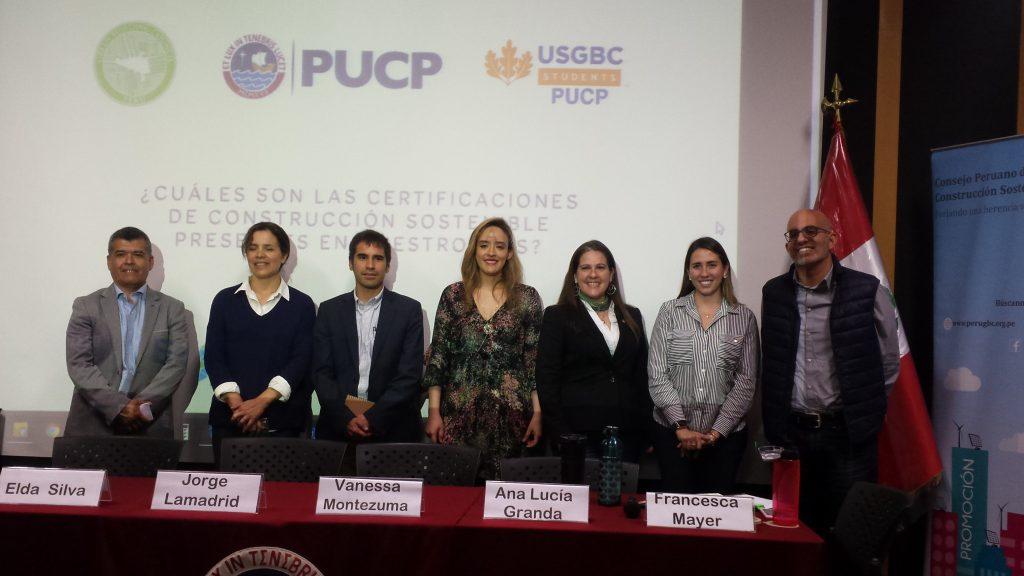 Conversatorio ¿Cuáles son las certificaciones de construcción sostenible presentes en nuestro país?