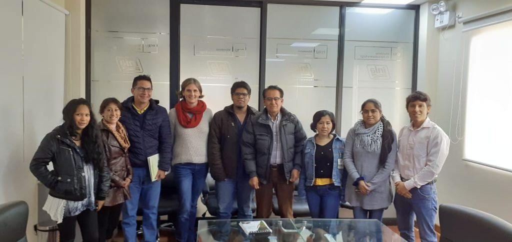(Español) Participación de PELCAN en el Instituto Nacional de Innovación Agraria (INIA)