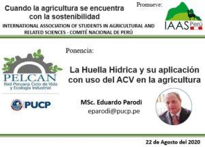 Ponencia de Eduardo Parodi MSc. ante la IAAS-Perú