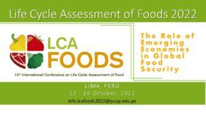 (Español) Lanzamiento de la conferencia internacional LCA of Foods 2022