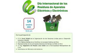 (Español) Invitación | Día Internacional de los RAEE
