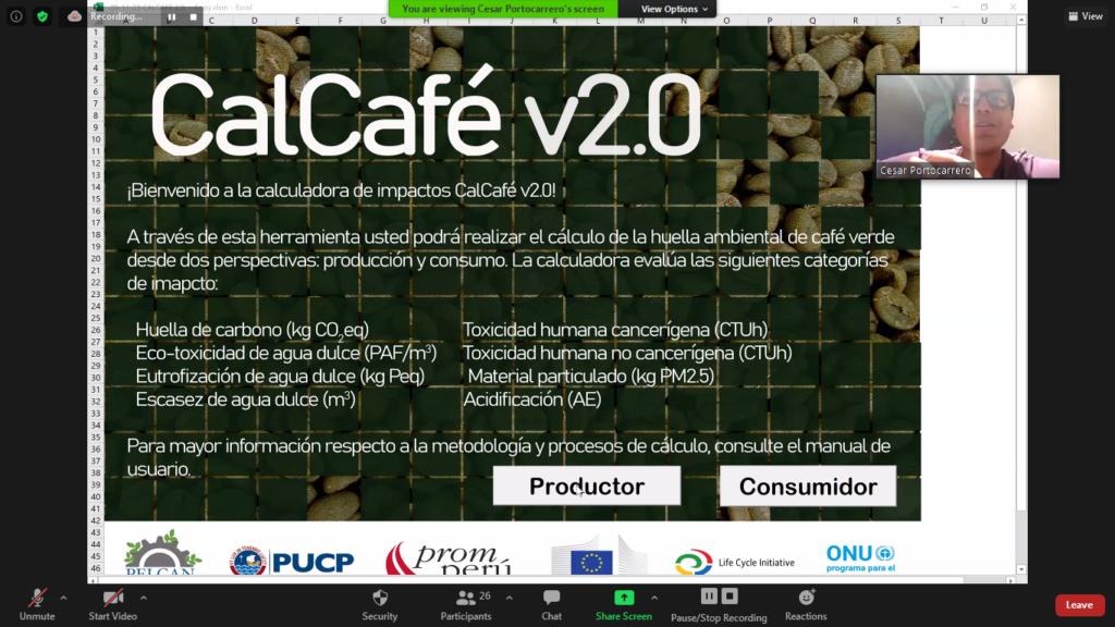 (Español) Presentación y curso de la herramienta CalCafé