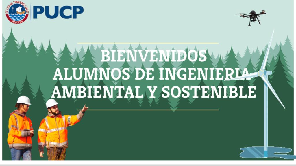 La PUCP presenta la nueva carrera de Ingeniería Ambiental y Sostenible con una nutrida representación de PELCAN