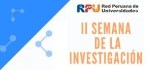 (Español) PELCAN en II Semana de la Investigación RPU | La profesora Isabel Quispe y la doctoranda Diana Ita, lideraron la presentación de «ValBio-3D: Valorization of residual biomass for advanced 3D materials»